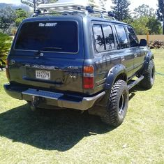 Flares Arch ล้อสีดำ / DL4WD 80 Series Land Cruiser Toyota Fender Flares ผู้ผลิต