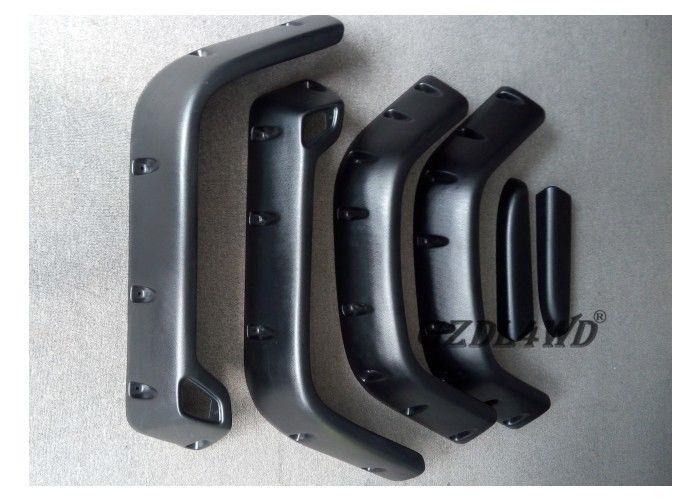 ประเทศจีน Pocket Style Pickup Fender Flares Jeep Wrangler ABS Plastic 1997 - 2006 TJ Model โรงงาน