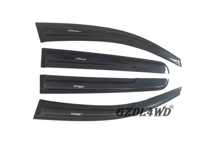 ประเทศจีน Ranger T6 T7 Window Visor Sun Visor Deflector Injection Molding Black โรงงาน